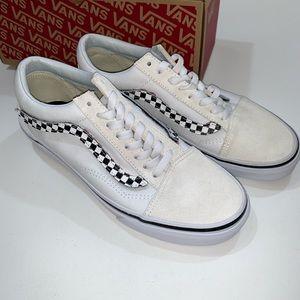 Vans men's old school white sneakers 1287